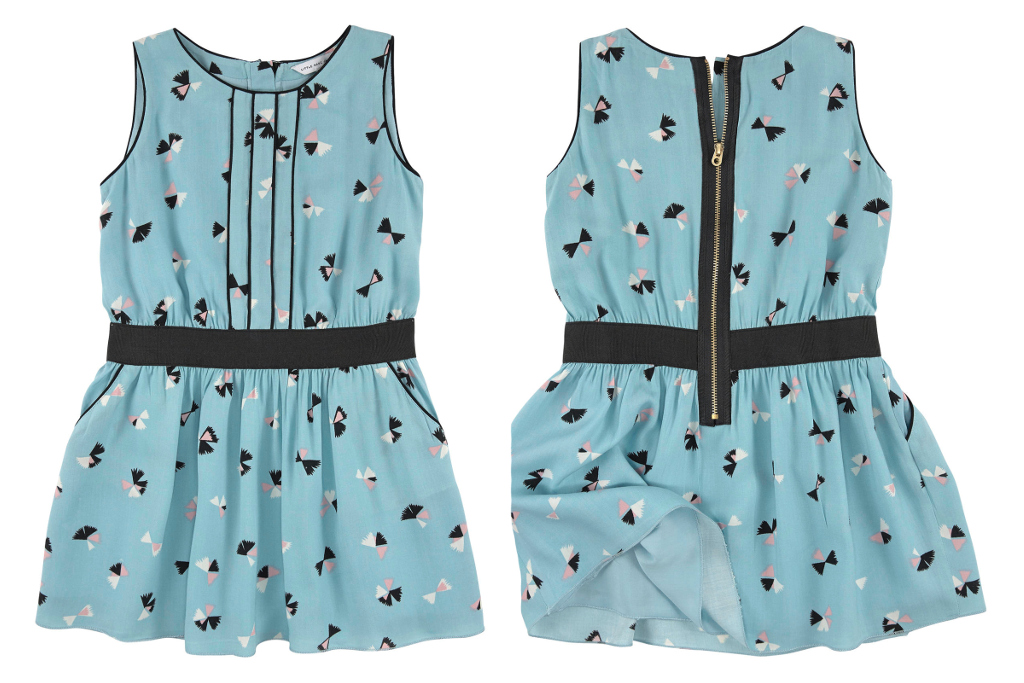 Little Marc Jacobs spring summer 2015, mini-me sleeveless light blue dress