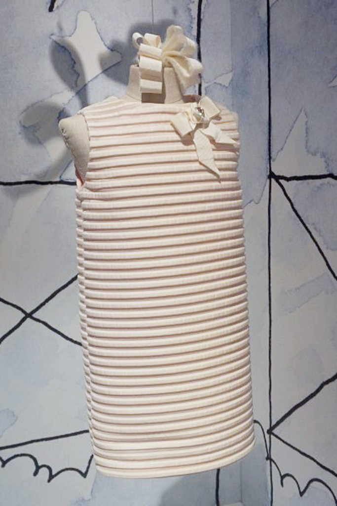 I Pinco Pallino winter 2015 a pure white dress