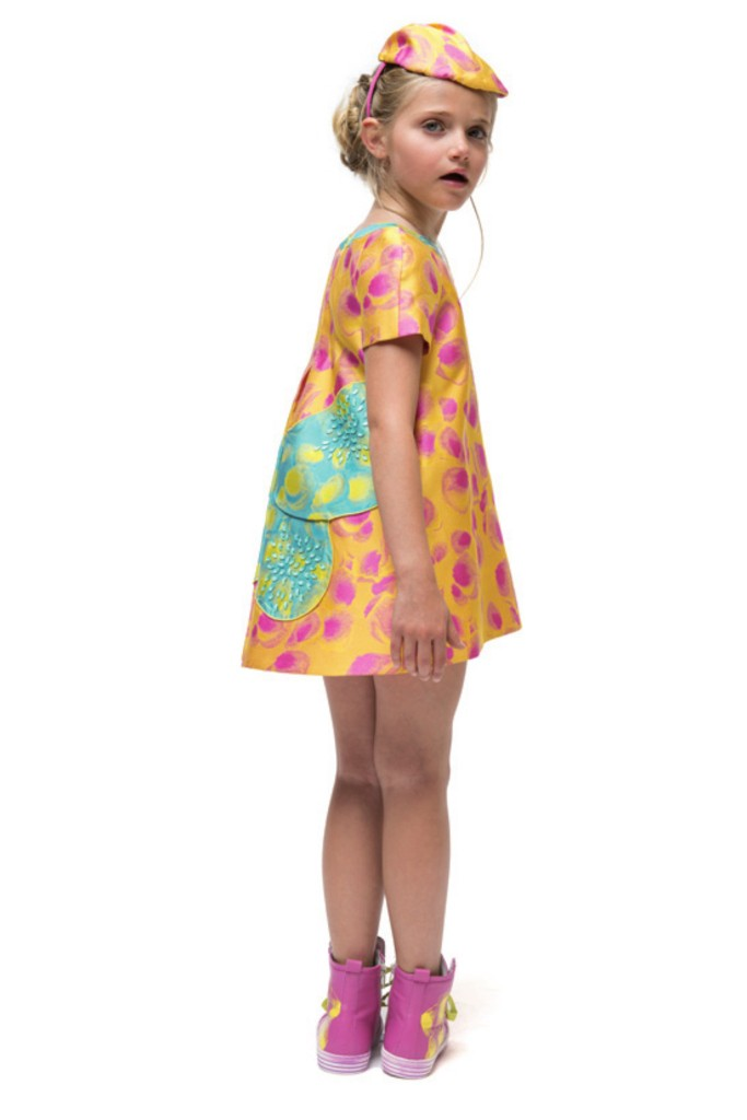 I Pinco Pallino spring 2015 butterfly dress