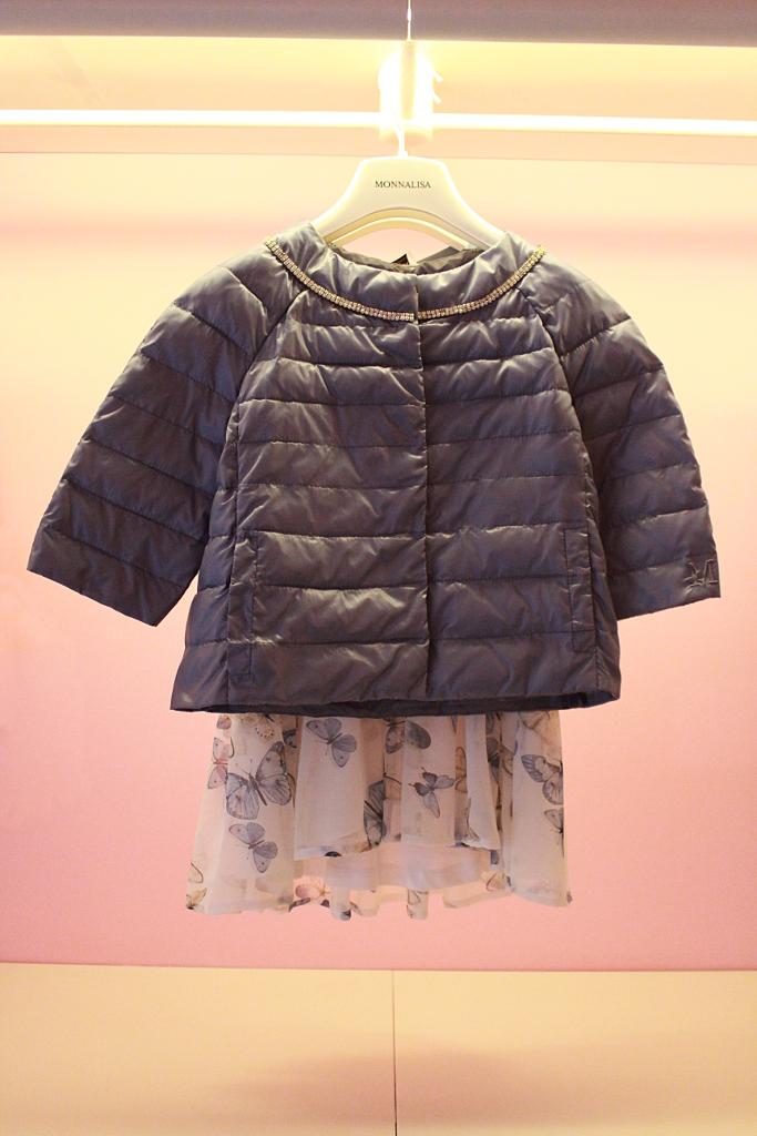 Monnalisa spring 2015 blue ultralight jacket