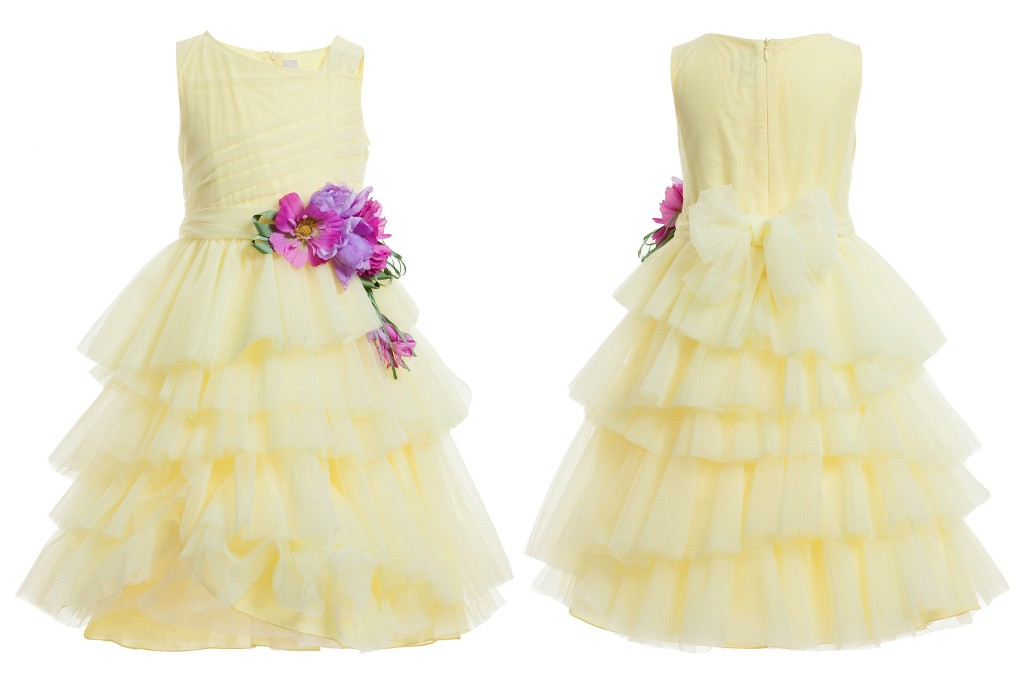 Aletta couture spring 2015 yellow dress for special occasions