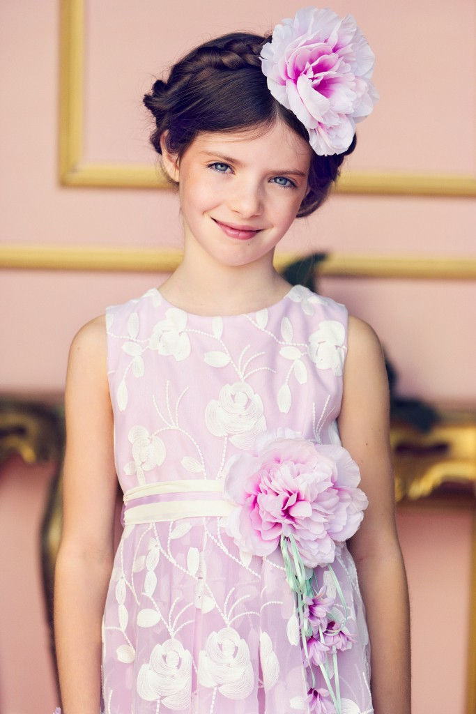 Aletta sartoria spring 2015 lilac dress for ceremonies