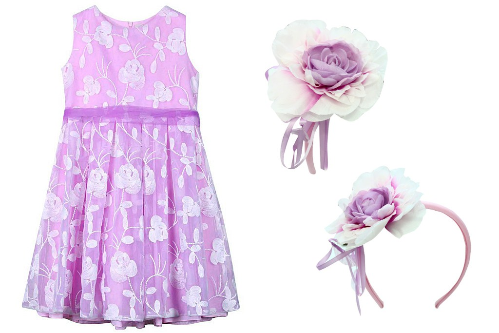 Aletta couture spring 2015 lilac outfit for special occasion
