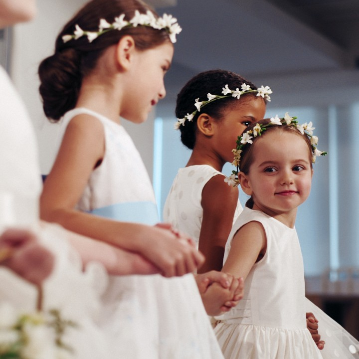 Oscar de la Renta spring 2015 bridal fashion show