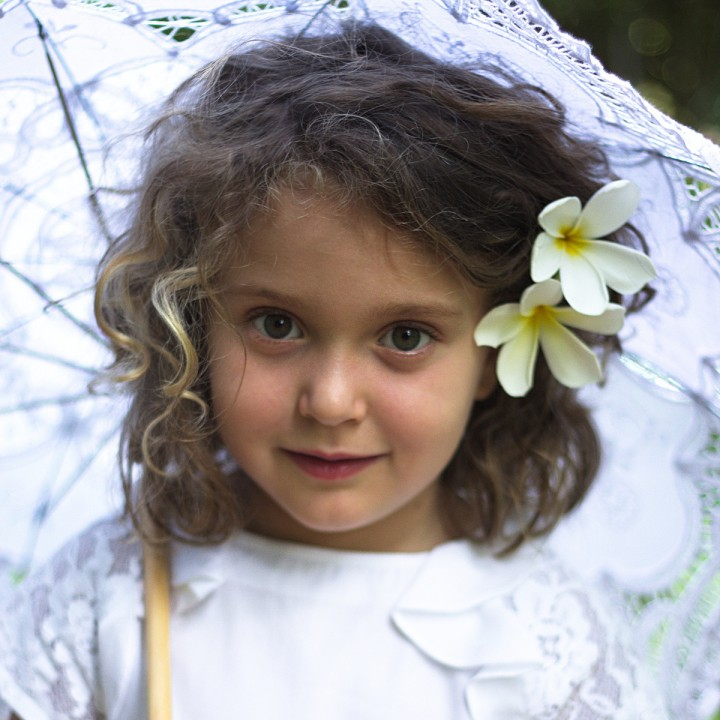 Simonetta white dress for Easter 2015