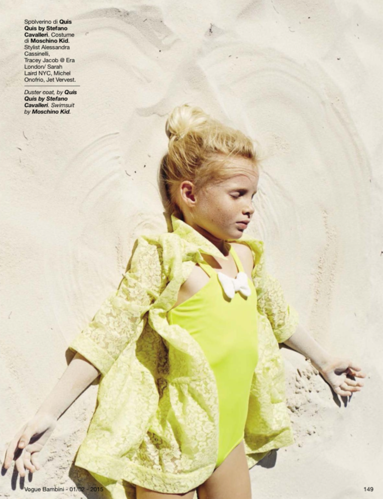 Vogue Bambini Jan/Feb issue 2015