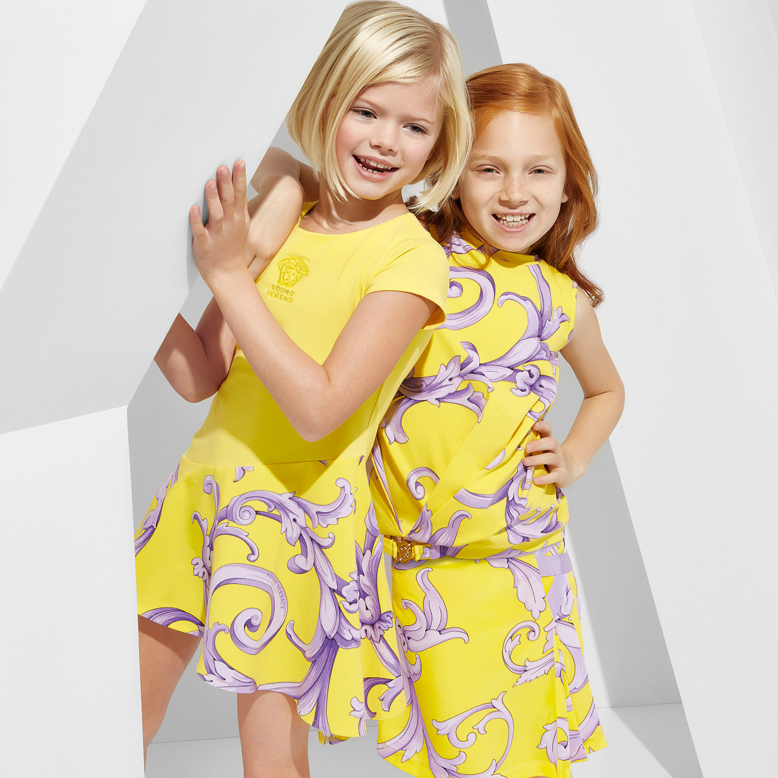 769bff0b Young Versace in yellow for spring 2015 - Fannice Kids Fashion