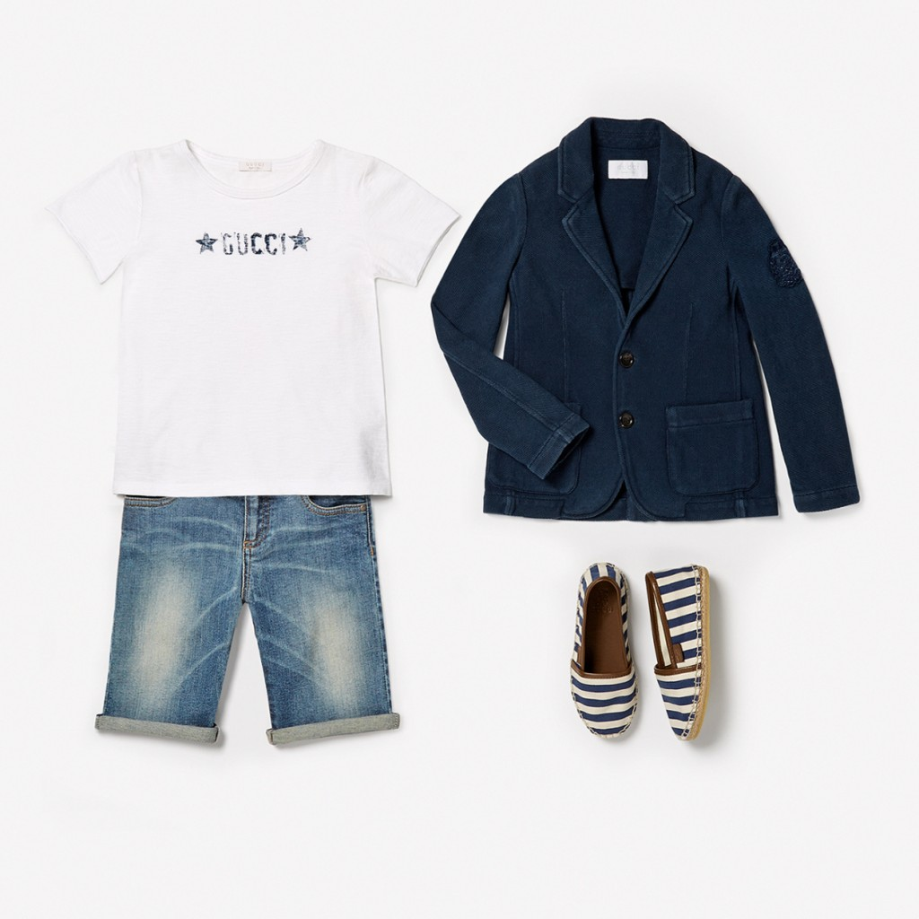 Gucci kids spring 2015 boy outfit