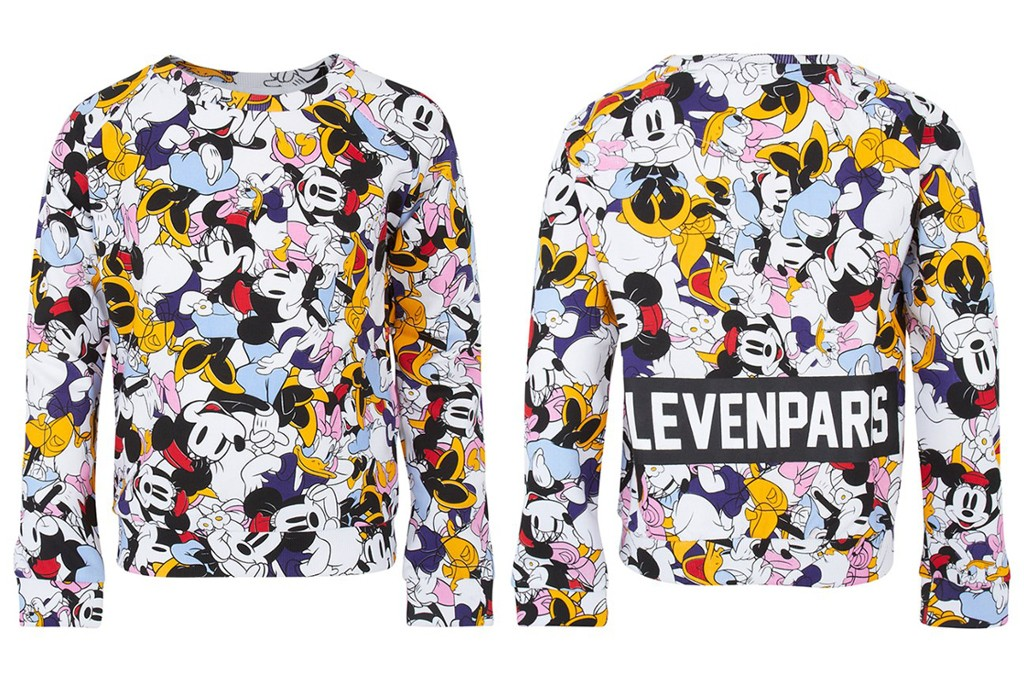 Little Eleven Paris Spring 2015 Minnie and Daisy Print Sweater