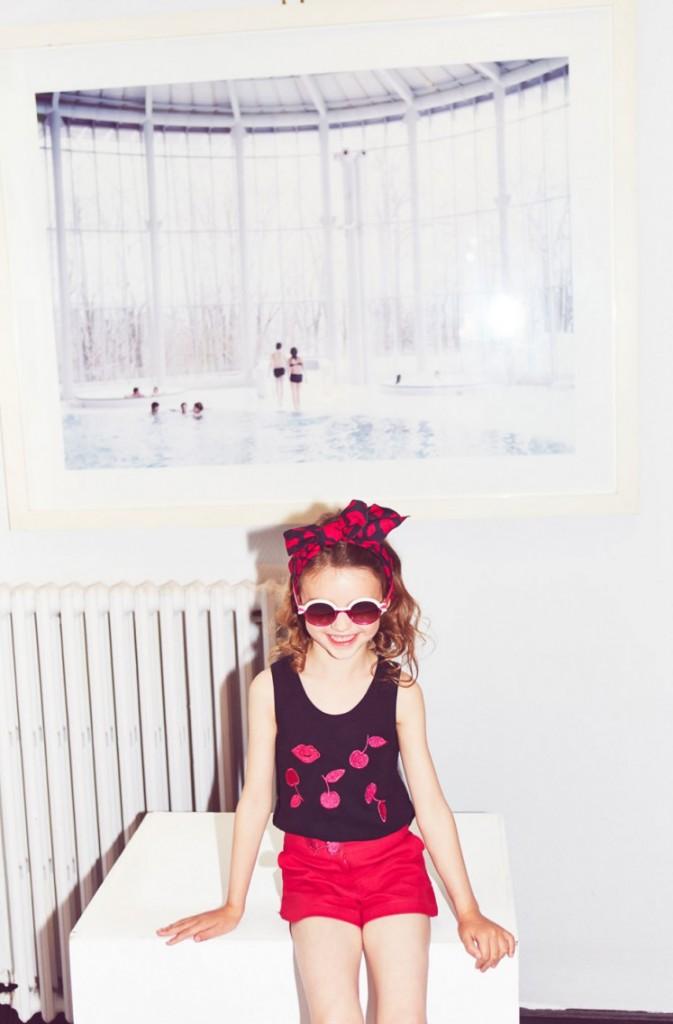 Rykiel Enfant 2015 cherry line