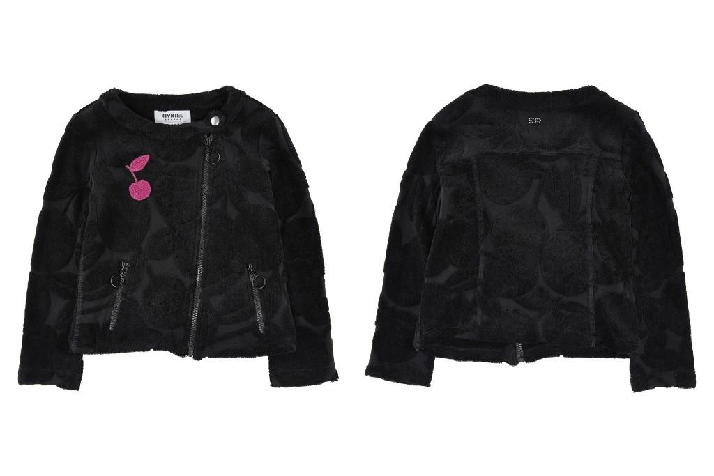 Rykiel Enfant black velvet jacket