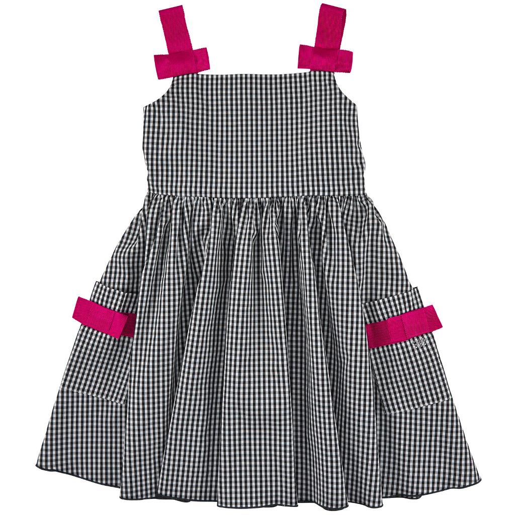 Rykiel Enfant spring 2015 gingham sleeveless dress