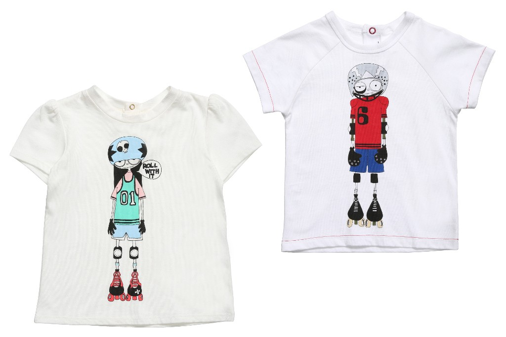 Little Marc Jacobs spring 2015 skater t-shirts