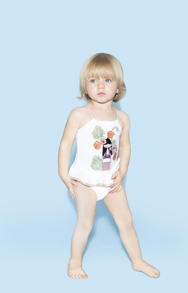 Little Marc Jacobs spring 2015 Mrs Marc Aloha