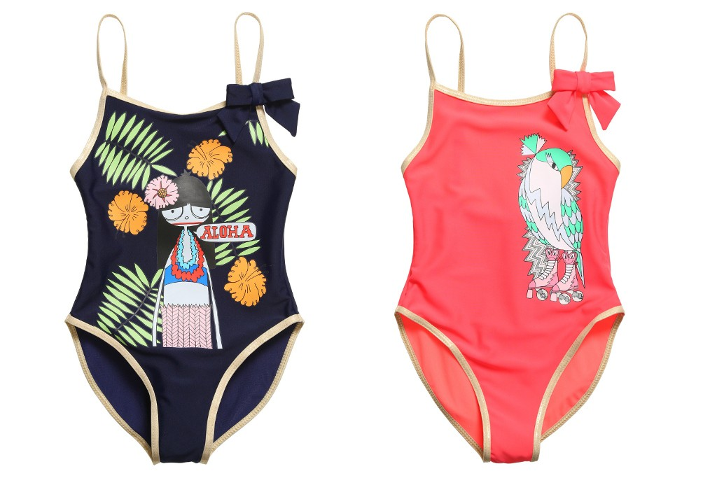 Little Marc Jacobs spring 2015 swimsuits