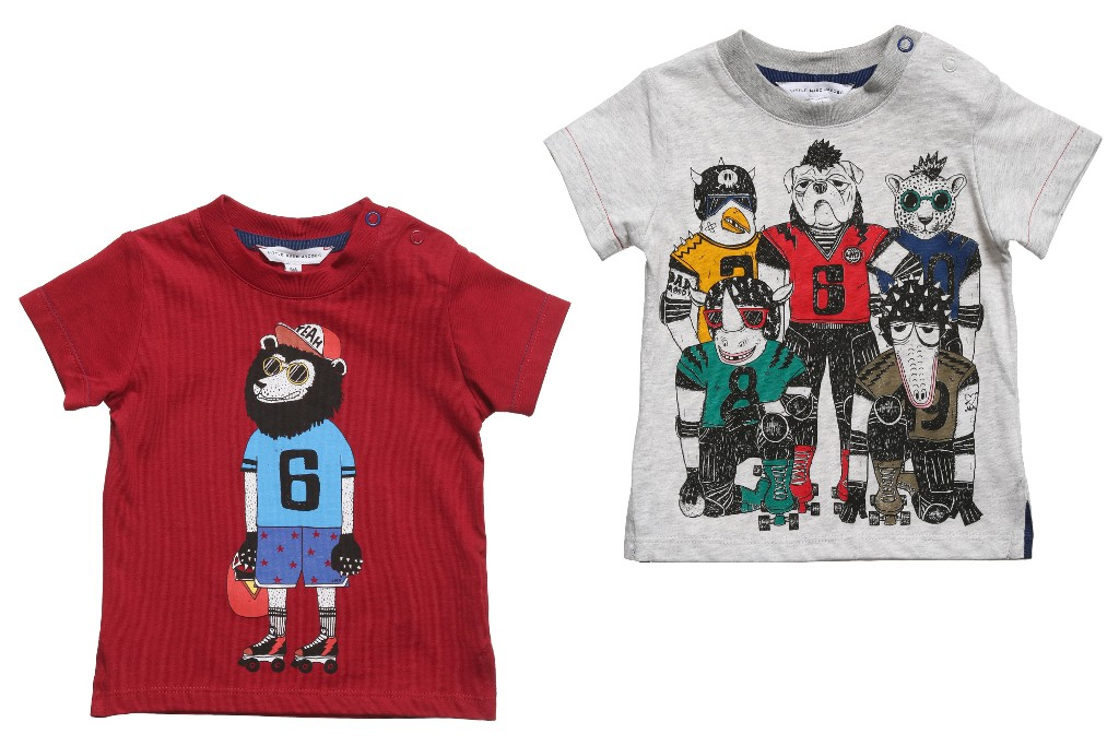 Little Marc Jacobs spring 2015 t-shirts for boys