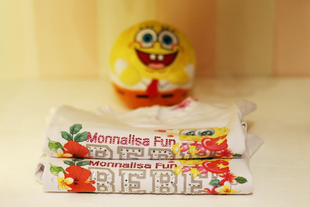 Monnalisa Fun spring 2015, Baby girls Spongebob baby line