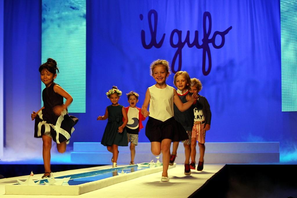 Pitti Bimbo 79 Il Gufo spring 2015 blue garments