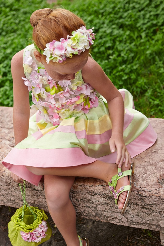 Quis Quis flowers dress and back
