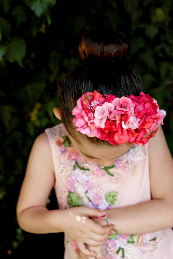 Quis Quis by Stefano Cavalleri spring 2015 flowers hairband