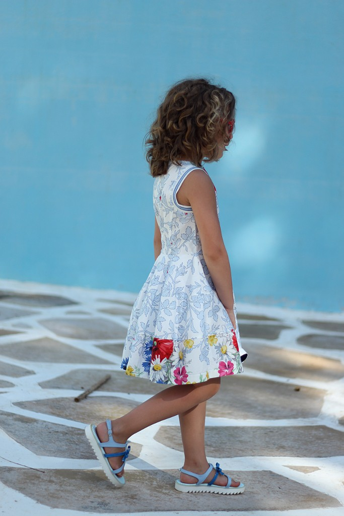 Simonetta sleeveless dress for spring 2015
