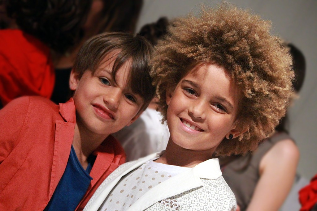 Fun & Fun backstage of spring 2016 fashion show