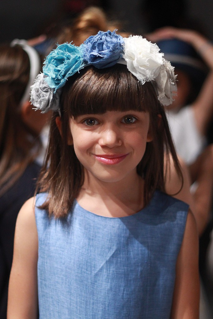 Il gufo spring 2016 floral hairbands