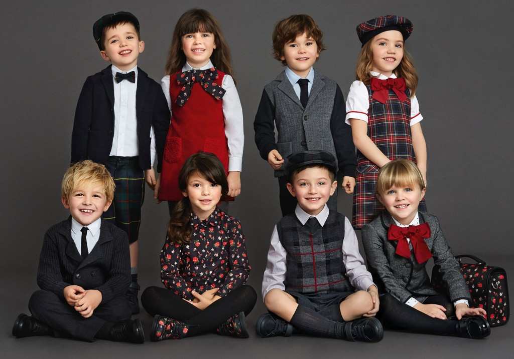Dolce & Gabbana back to school 2015 collection