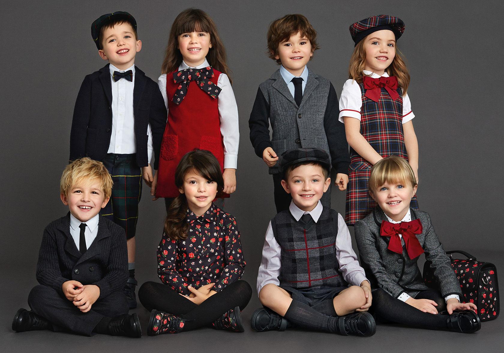 Дети в разных стилях фото