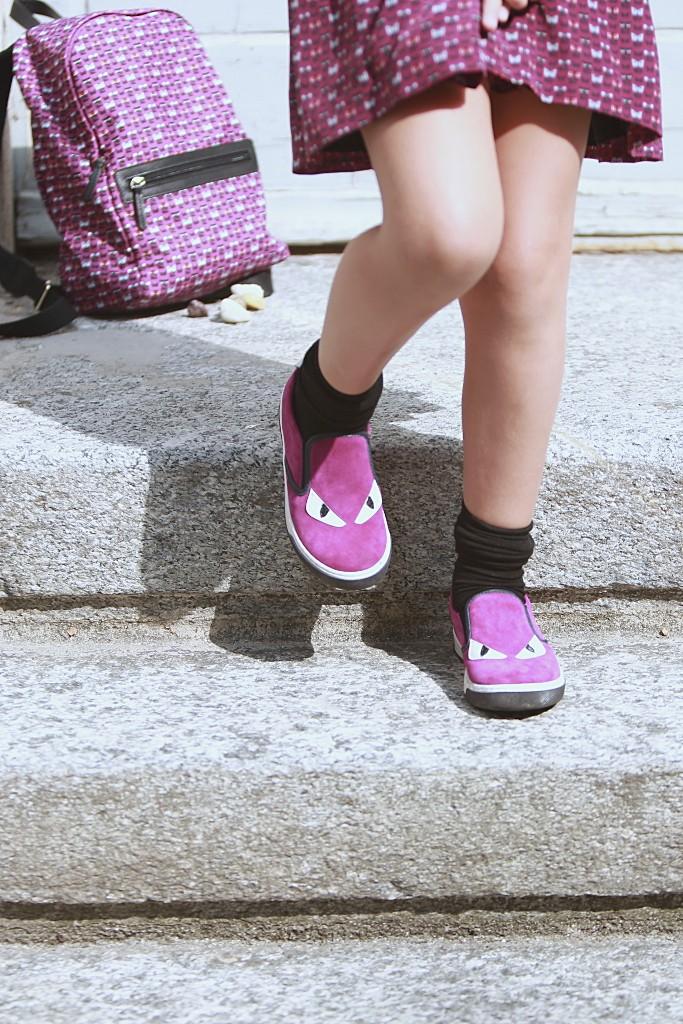 Fendi kids back to school 2015 monster shoes