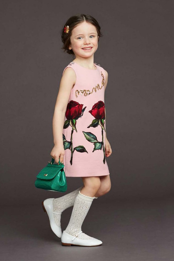Dolce & Gabbana fall winter 2015 Viva la Mamma child line