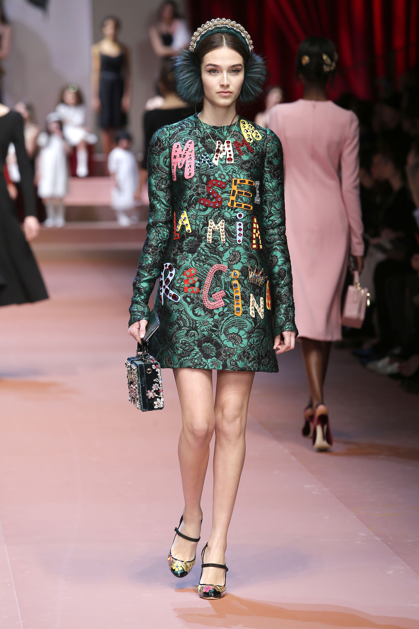Milan Fashion Week Fall Winter 2015 Dolce & Gabbana event