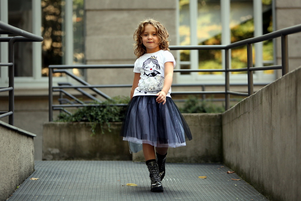 Simonetta back to school 2015 black and white outfit