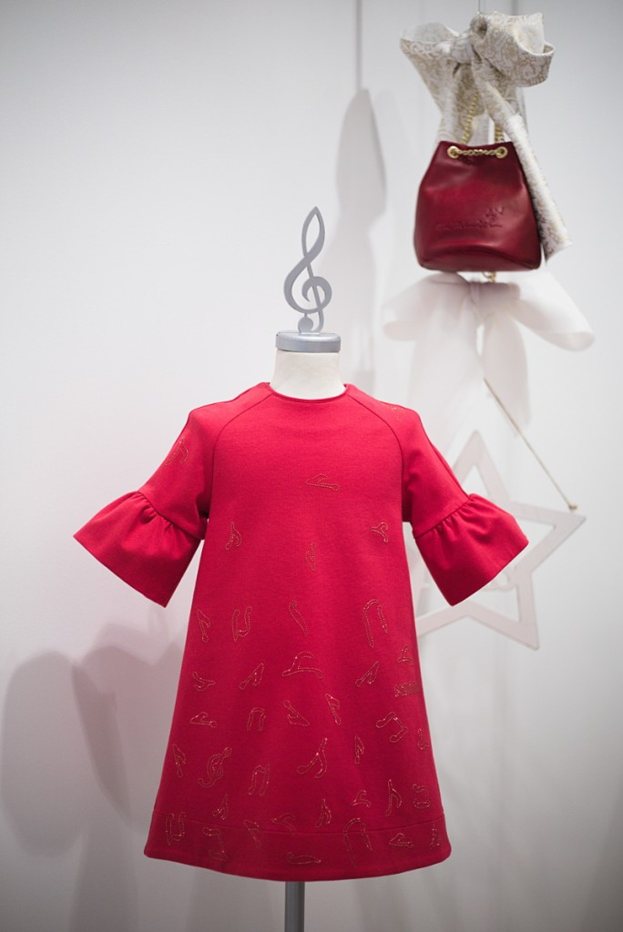 Mimisol winter 2015 red dress