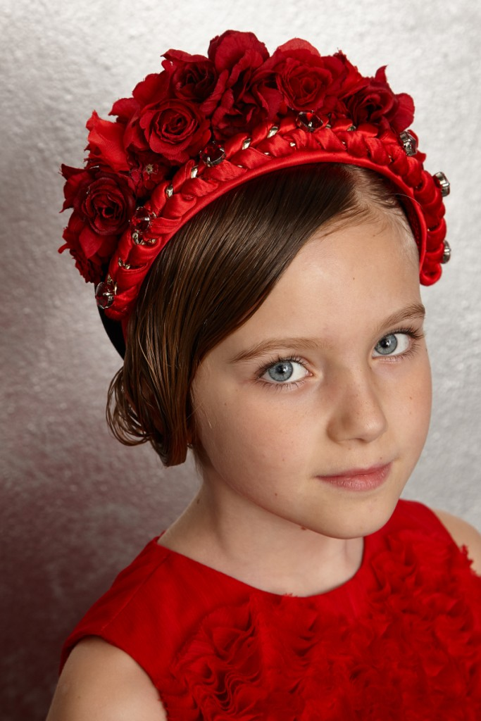 Quis Quis Winter 2015 red hairband