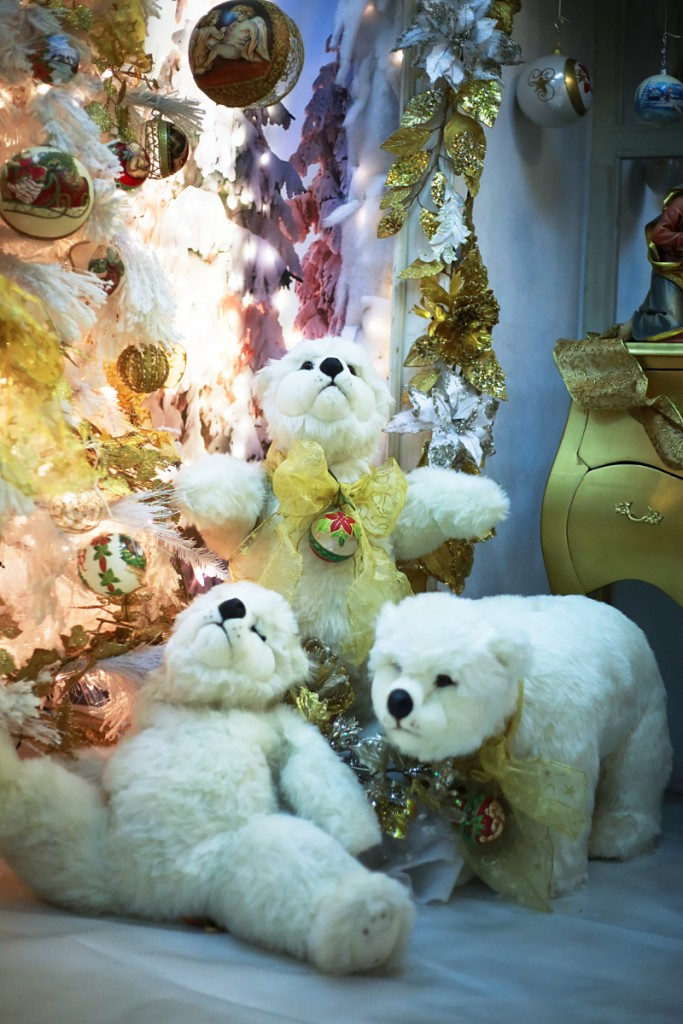 Vetrerie di Empoli adorable bears for Christmas 2015