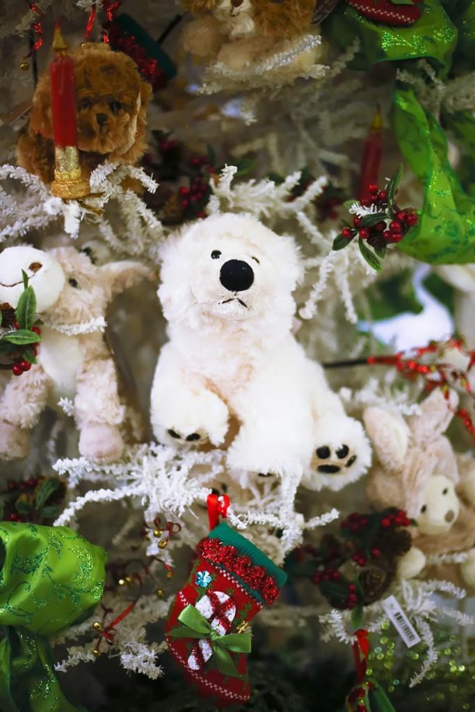 Vetrerie di Empoli teddy bear christmas 2015