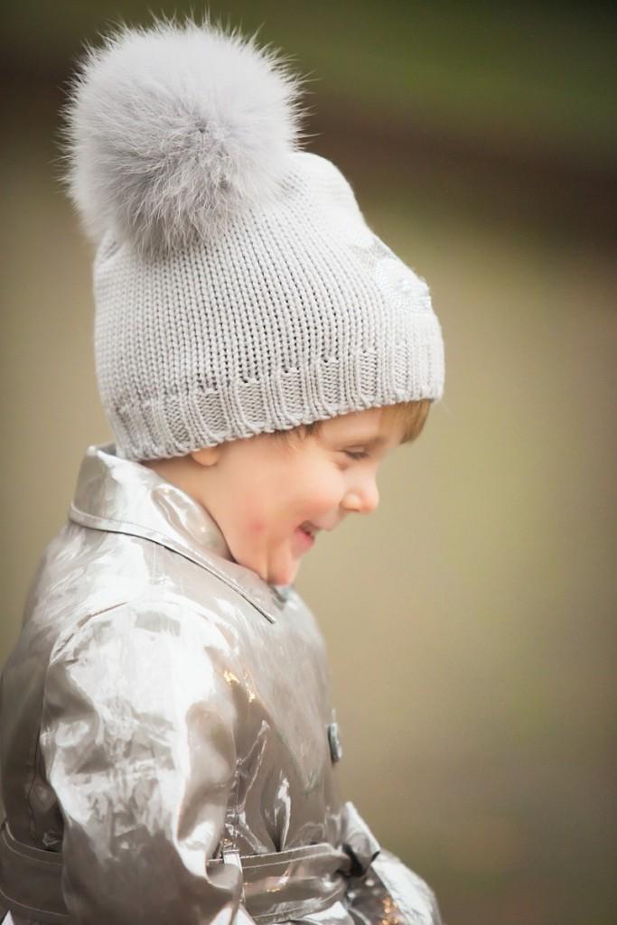 Catya winter 2015 pom pom hat with cat