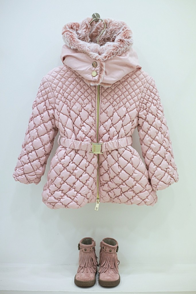Miss grant winter 2015 pink padded jacket