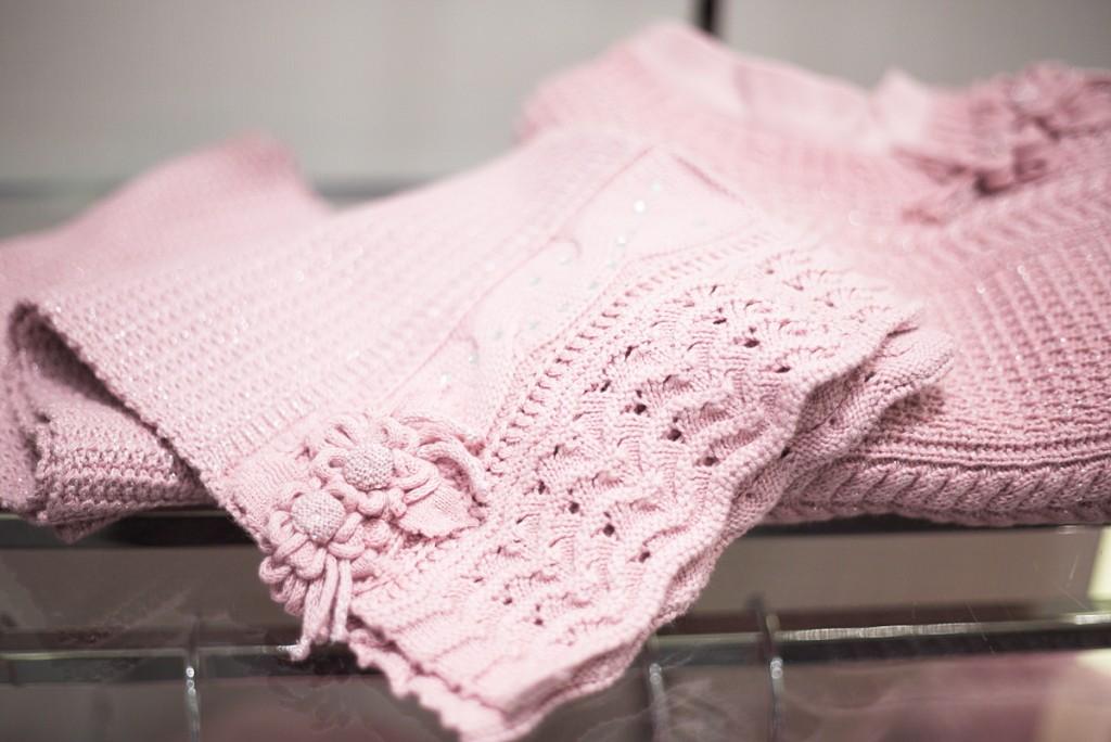 Sarabanda winter 2015 pink scarf