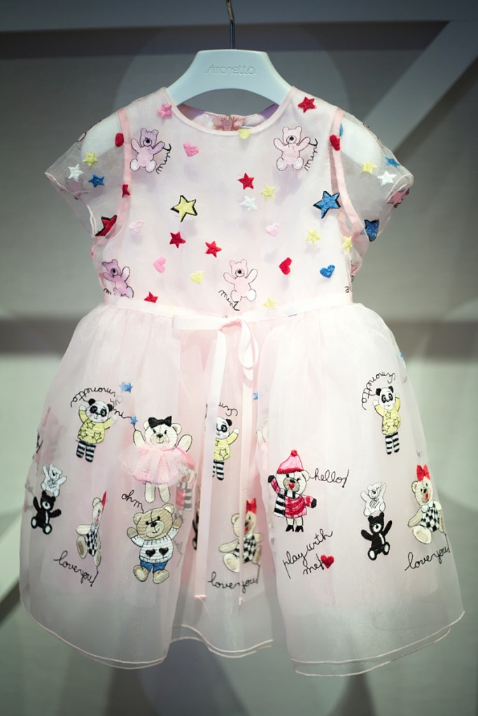 Pitti Bimbo 82 Simonetta fall winter 2016 tulle dress