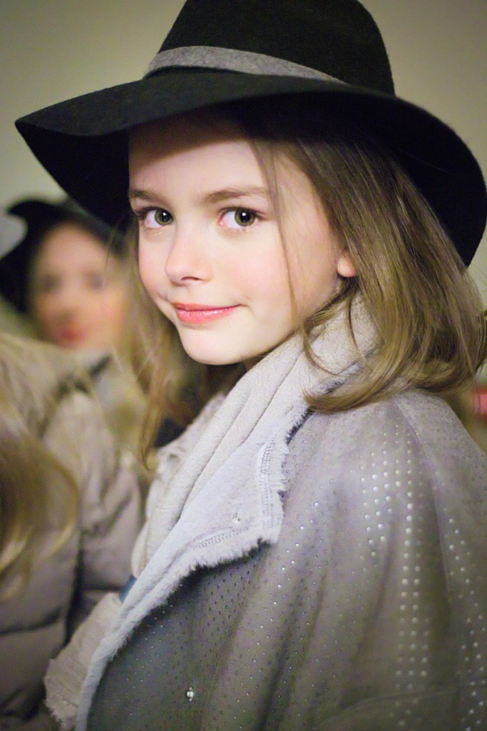 Monnalisa backstage for winter 2016 kids fashion