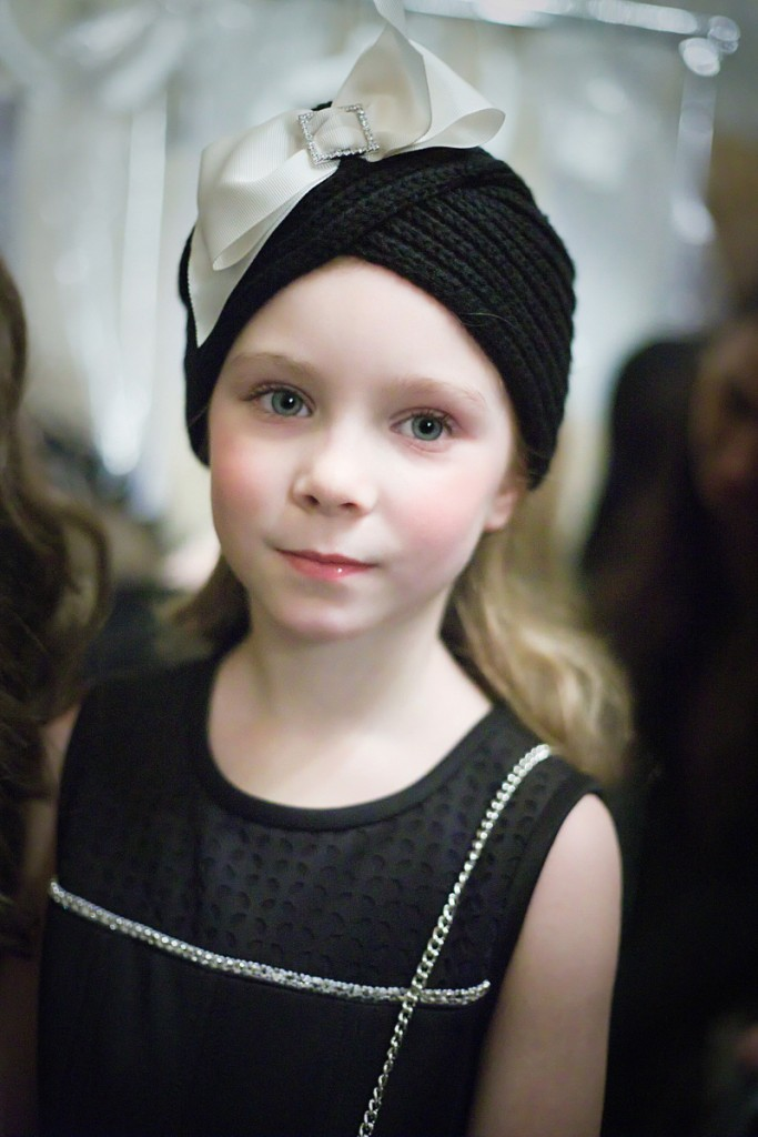 Monnalisa backstage ofkids fashion event during Pitti Bimbo 82
