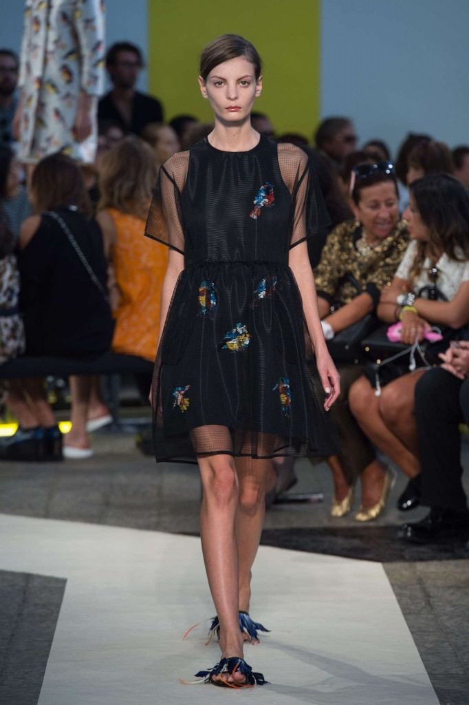 Milan Fashion Week Spring 2016 MSGM fashion show
