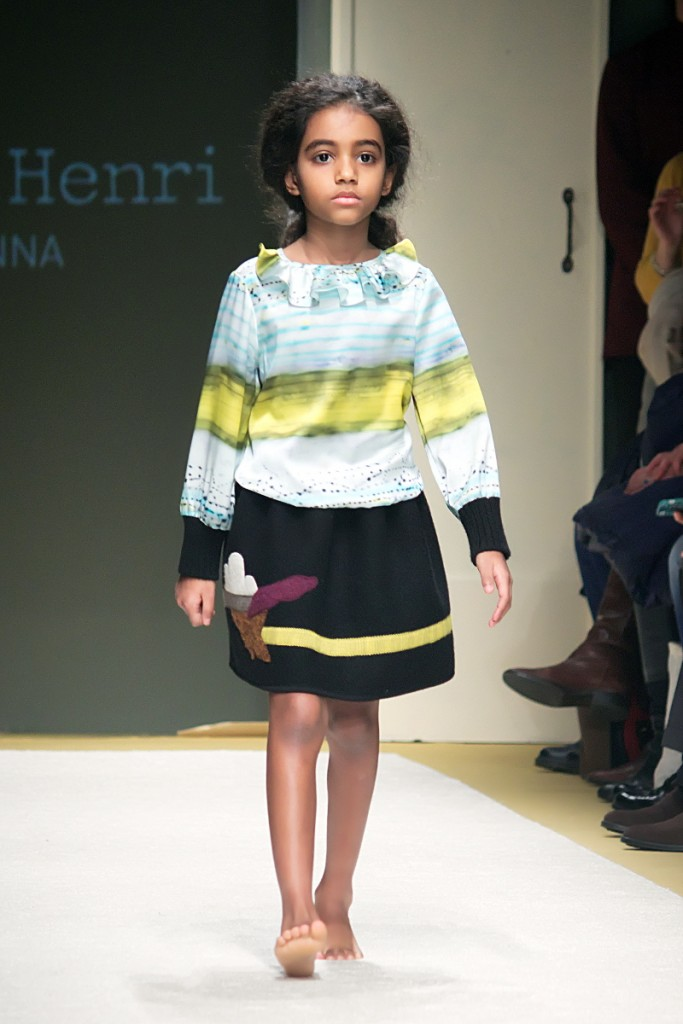 Pitti Bimbo 82 Hilda Henri fall winter 2016