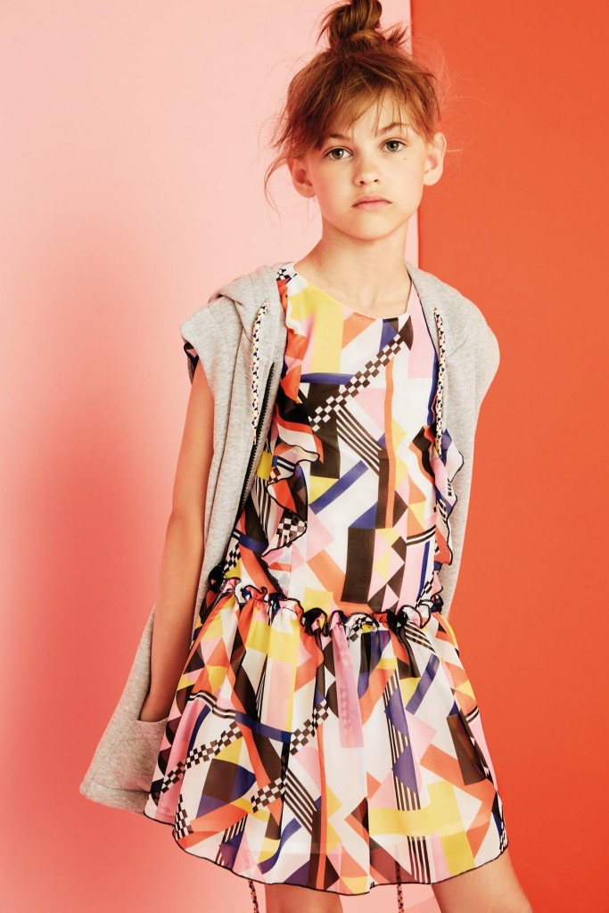 MSGM kids spring summer 2016 advertising campaign