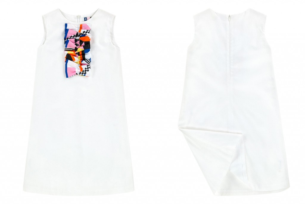 MSGM kids spring summer 2016 white dress