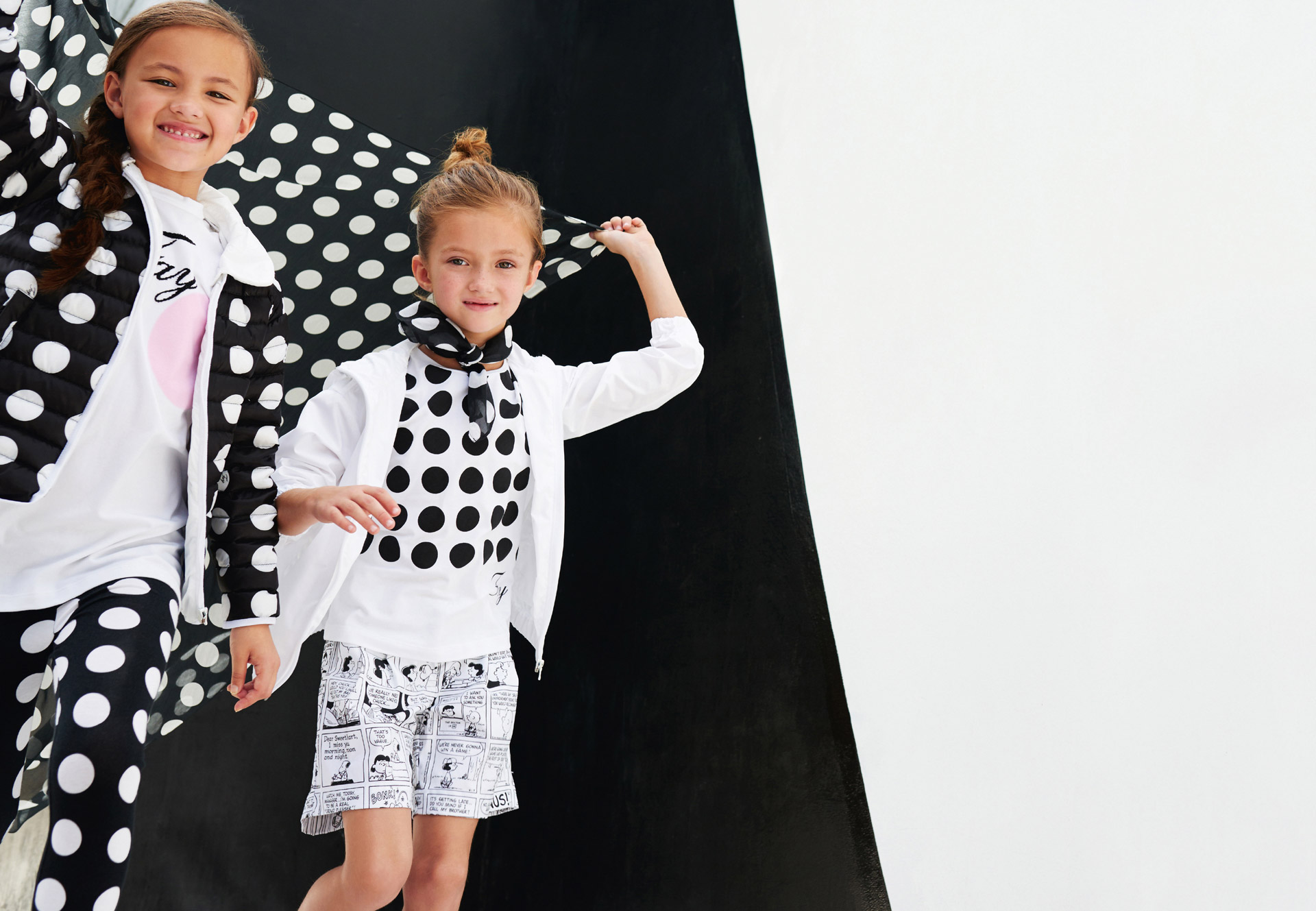 finest selection c3a33 39e74 Fay junior spring summer 2016 in elegant black and white ...