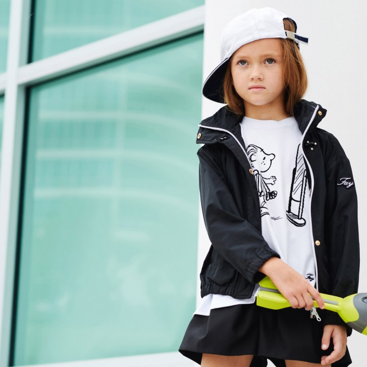 Fay junior spring summer 2016 in elegant black and white