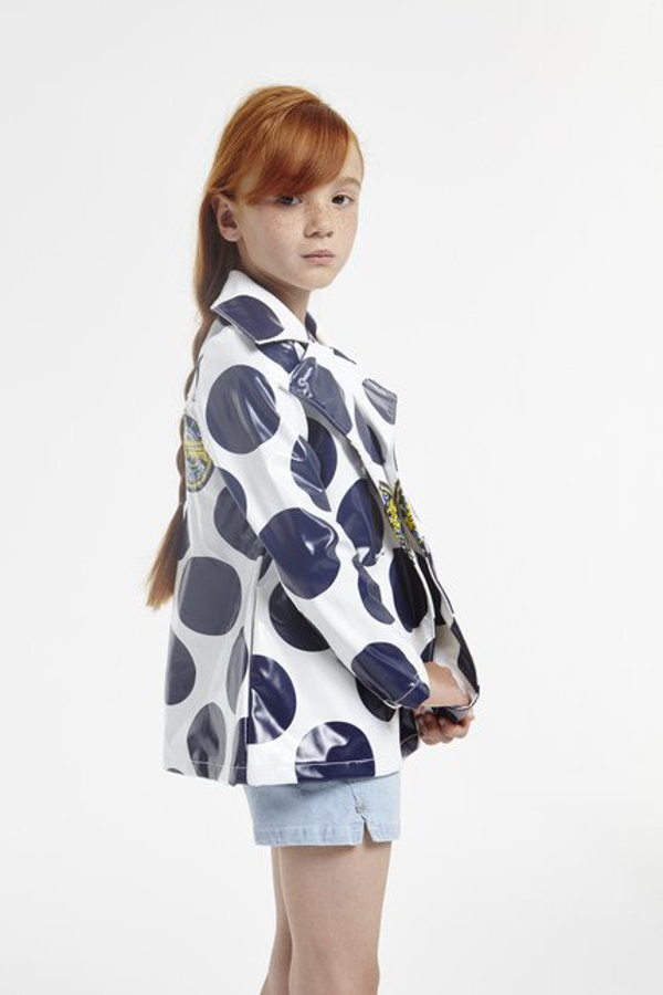 "Kenzo kids spring summer 2016 ""Funny Stripes"" theme with polka dots"